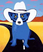 Commercial Blue dog - Texan wannabe