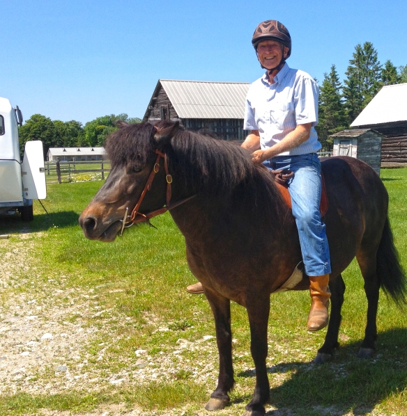 Helmets are a must for me --for my protection and to set example for folks new to horses