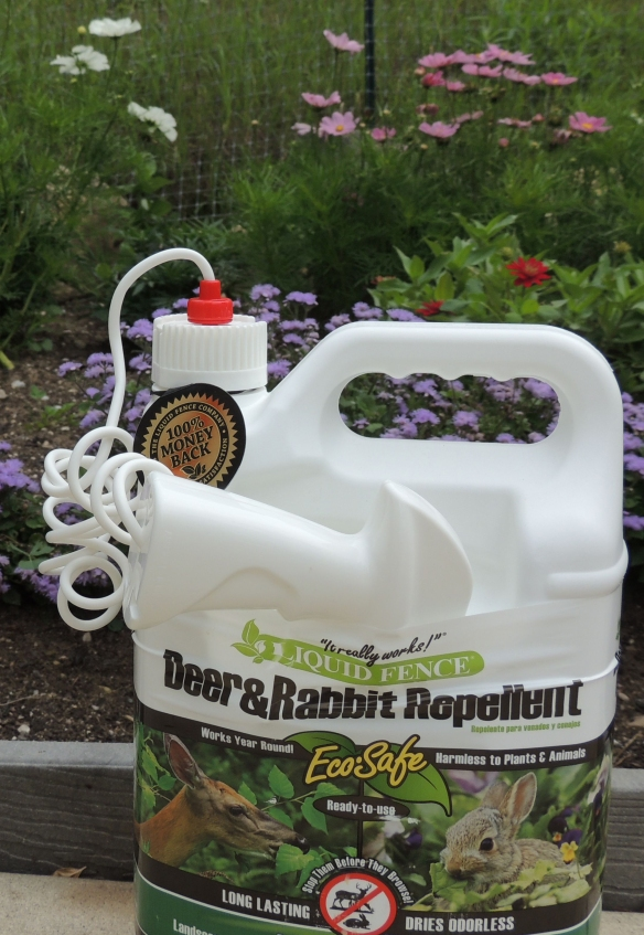 It did not work -- Oh , was I supposed spray it around the garden?