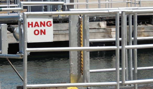 Found this at the Soo Locks yesterday -- Not sure why it was there but it seemed appropriate that I should apply to to the curves of life!