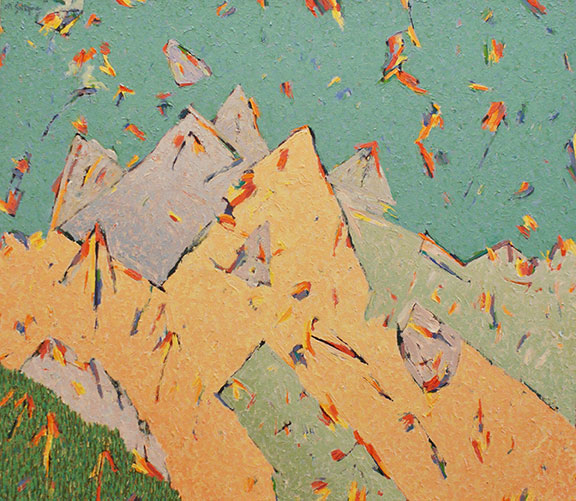 Alps  - Abstract - For sure in my mind - pretty ? first grade? award winning - Art is for sure in the EYES OF THE BEHOLDER.