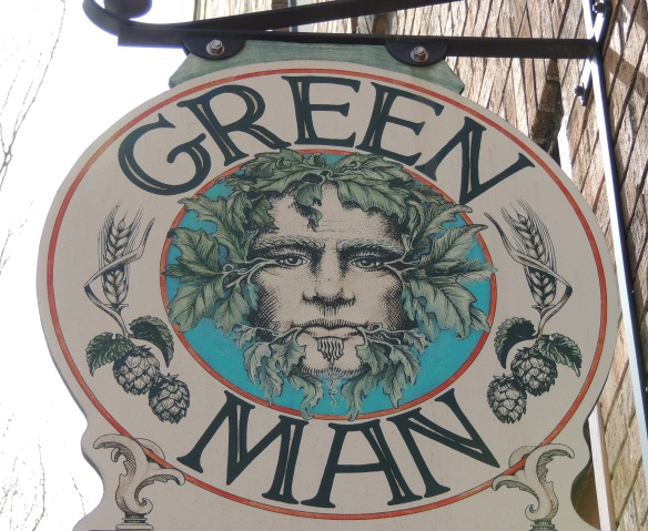 This tavern sign in Ashville, I think is for vegans to seek happiness through the spirits - I assume beer and wine are on their diet!!!
