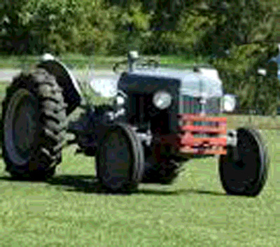 1948 - our one new tractor -- I still use this tractor on Drummond