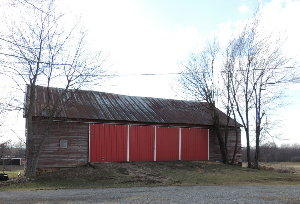 The old barn - I spent every day of my youth and teen years doing at least one farm chore in this barn!