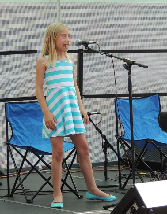 Prior to going to the art show in Manasquette we watch some Blueberry festival talent scout singers - the shoes on this young lady got me thinking - I spent the next several hours shooting shoes -